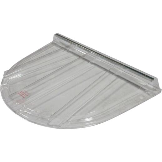 Wellcraft 58 In. x 44-1/2 In. Polycarbonate Window Well Flat Cover