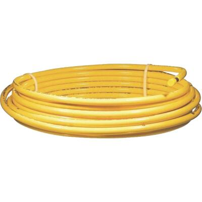 Mueller Streamline 3/8 In. OD x 50 Ft. Yellow Plastic Coated ACR Copper Tubing