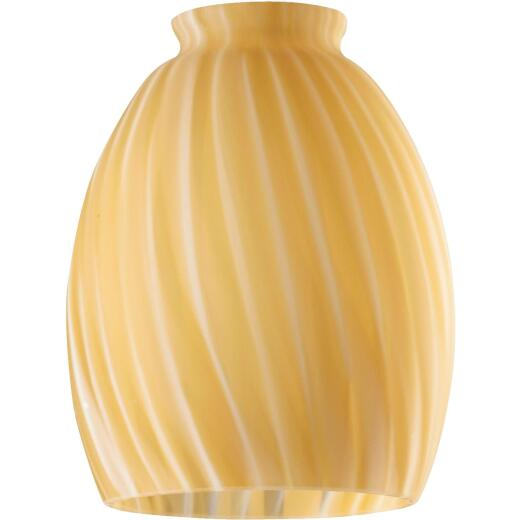 Westinghouse 5-3/4 In. Spice Swirl Glass Shade