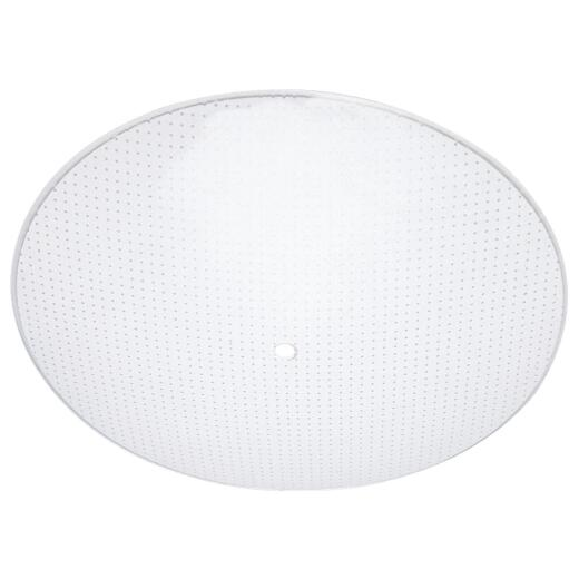 Westinghouse 13 In. Satin White Round Dot Pattern Ceiling Diffuser