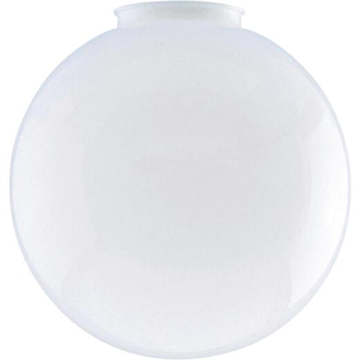Westinghouse White 4 In. x 8 In. Acrylic Ceiling Globe Shade