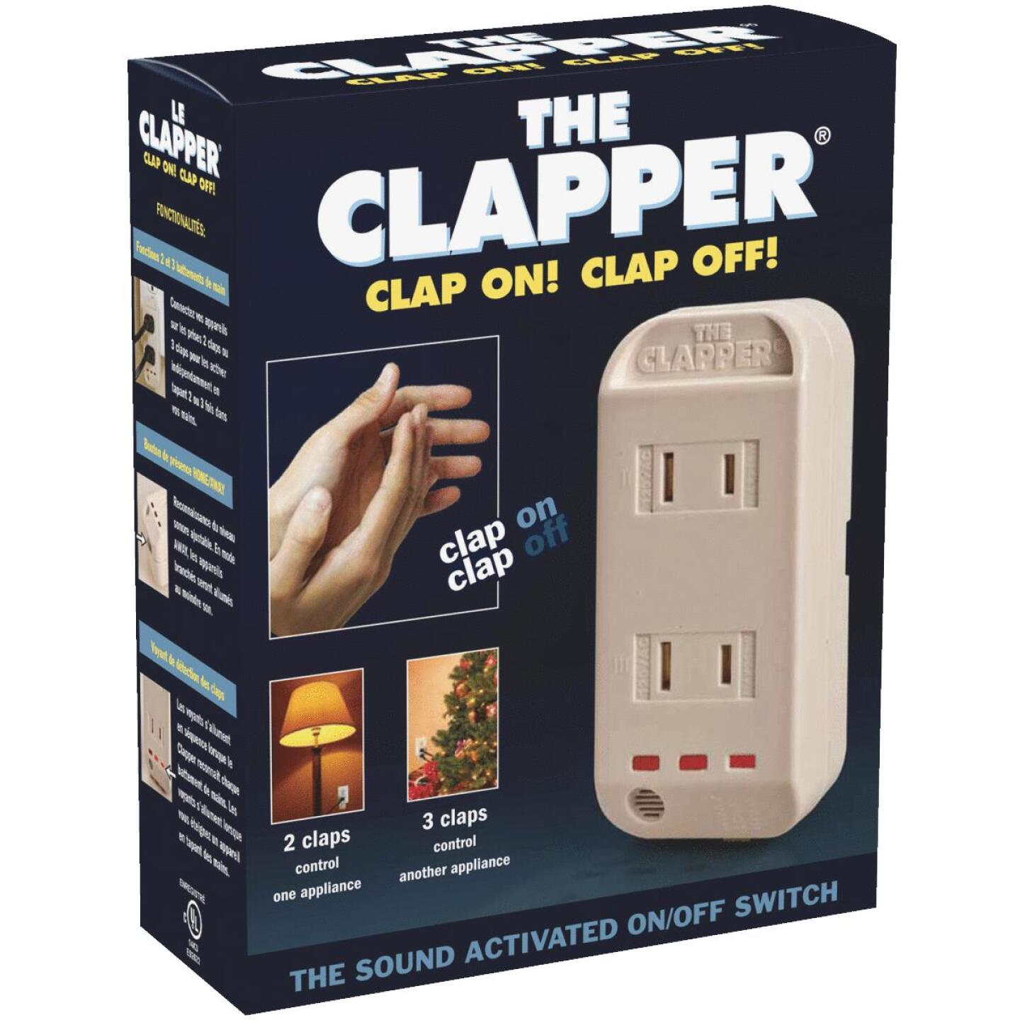 The Clapper Sound Activated Switch Image 1