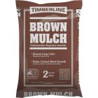 Timberline 2 Cu. Ft. Dyed Brown Shredded Hardwood Mulch Image 1