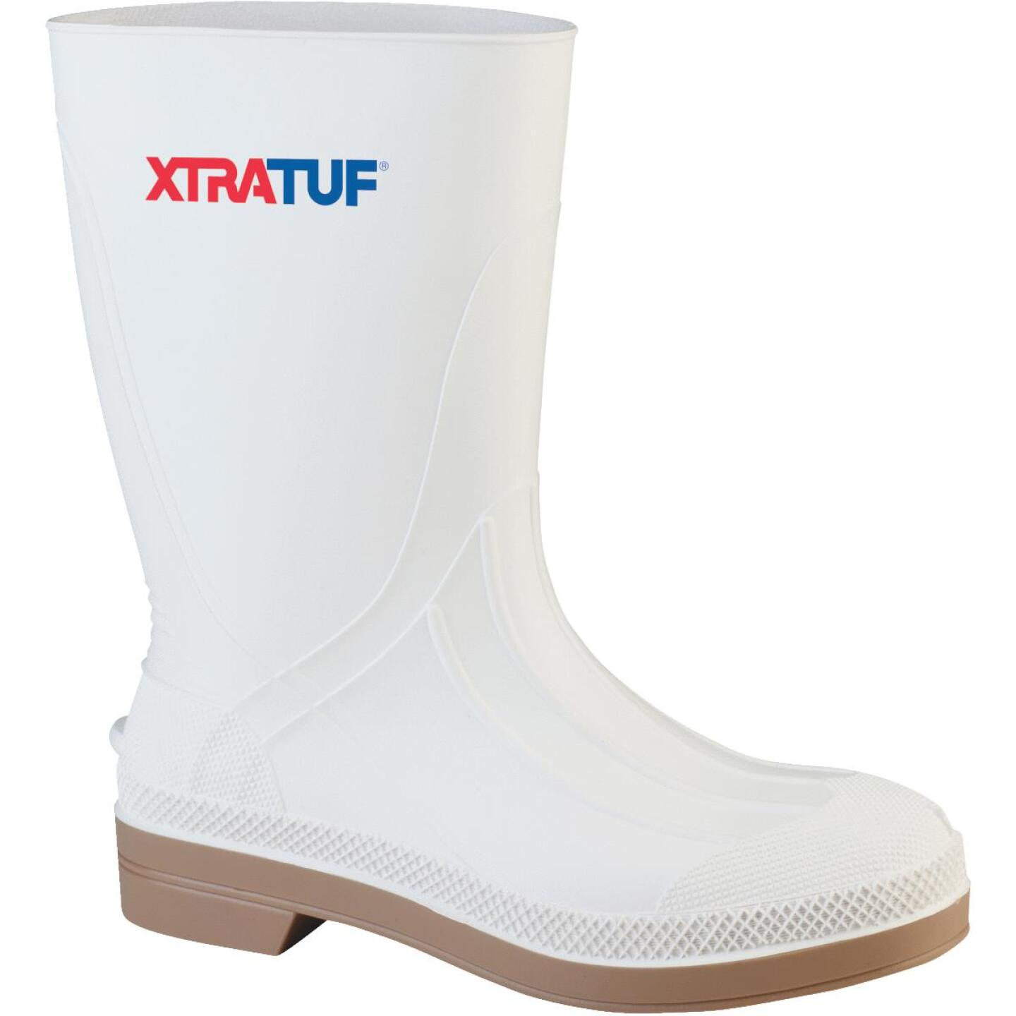 Honeywell XtraTuf Men's Size 13 White PVC Shrimp Boot Image 1