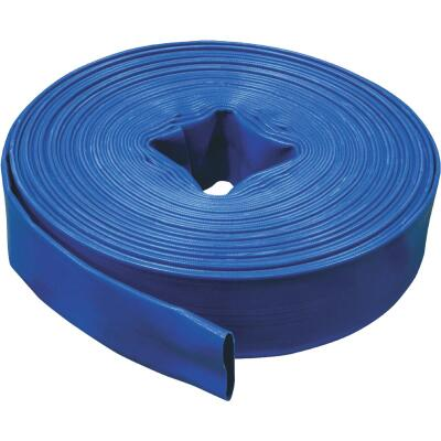Apache 2 In. x 100 Ft. Reinforced PVC Blue Discharge Hose
