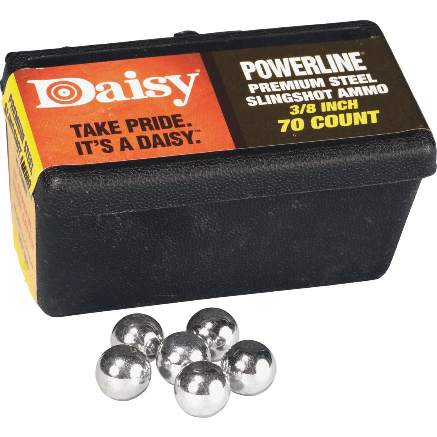 Daisy Steel 3/8 In. Slingshot Ball (70-Count) Image 1