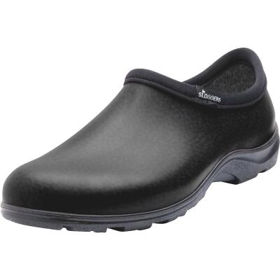 Sloggers Men's Size 9 Matte Black Garden Shoe