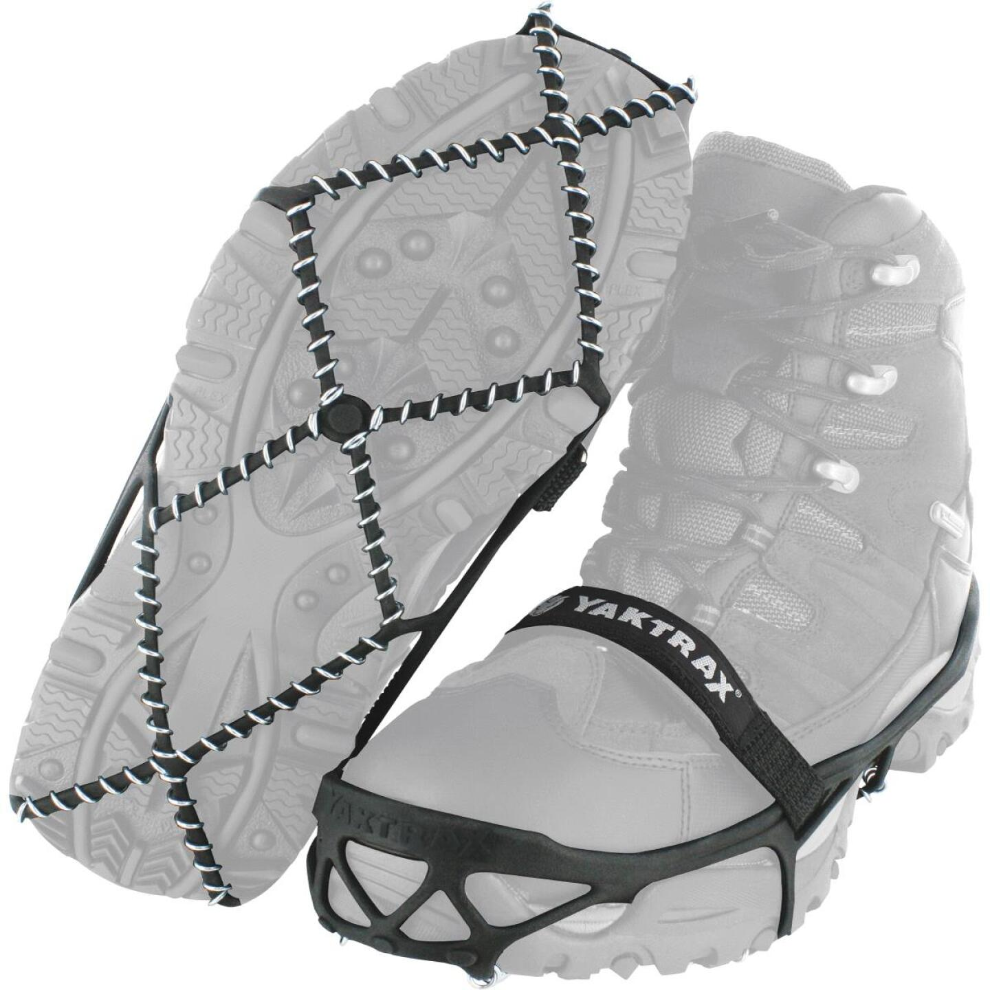 Yaktrax Pro Small Black Rubber Ice Cleat Image 1