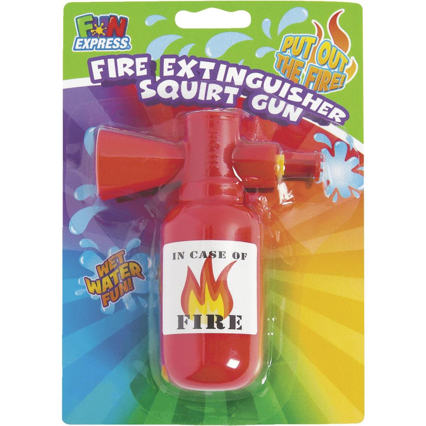 Fun Express Fire Extinguisher Squirt Gun Image 1
