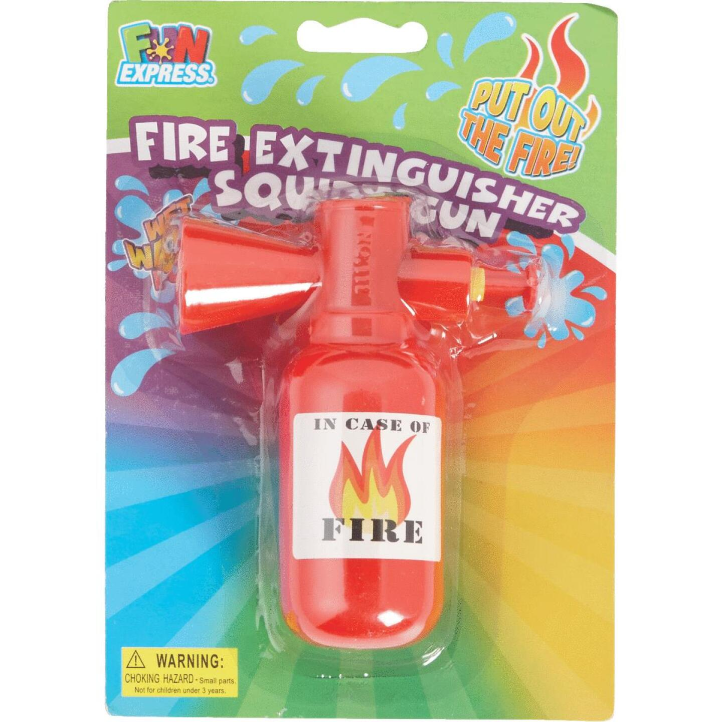 Fun Express Fire Extinguisher Squirt Gun Image 2